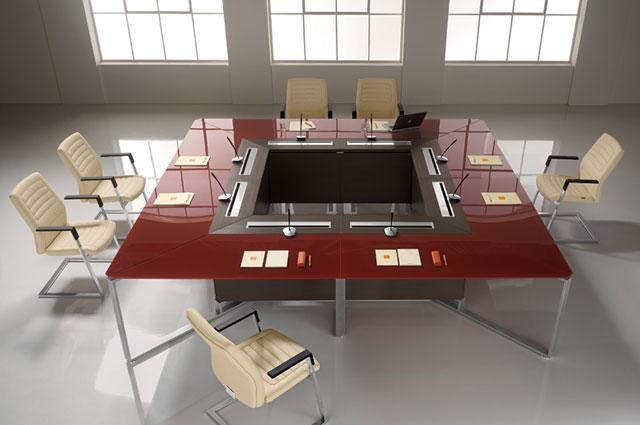 La sala riunioni come renderla efficiente ed elegante for Sala arredamento