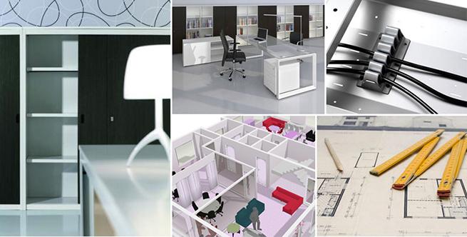 Mobili Per Ufficio Su : Arredamento per ufficio su misura
