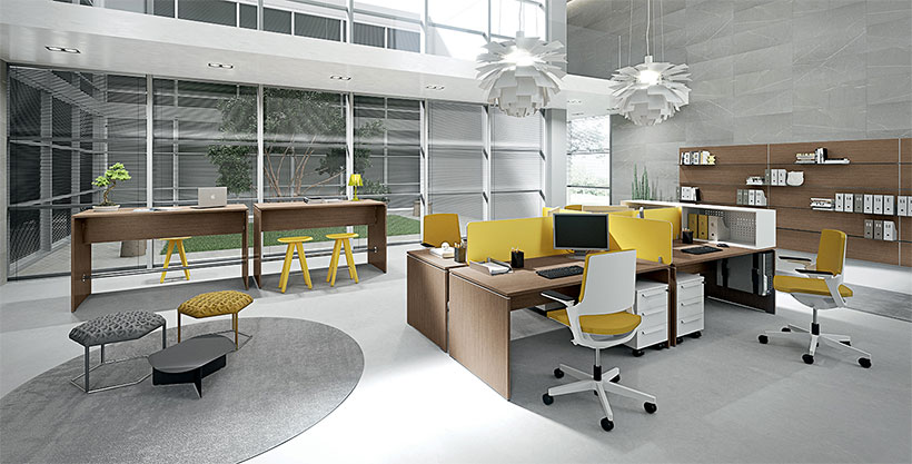 Arredare l'ufficio con mobili in pronta consegna