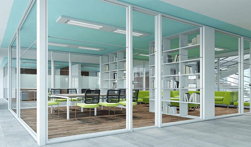 8 buoni motivi per scegliere le pareti divisorie per un for Pareti per ufficio