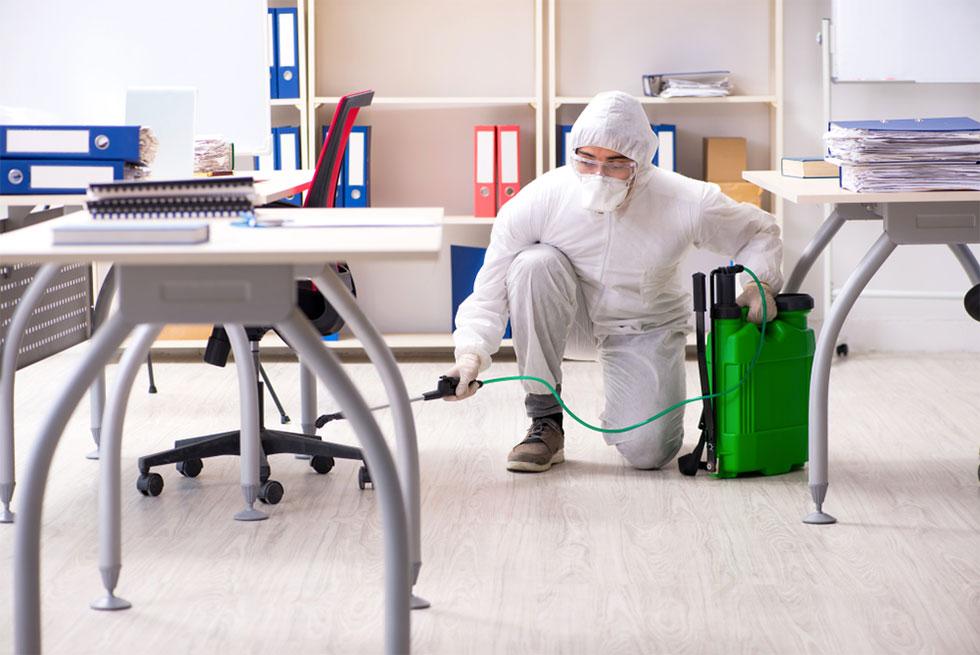 Sanificazione certificata ambienti di lavoro