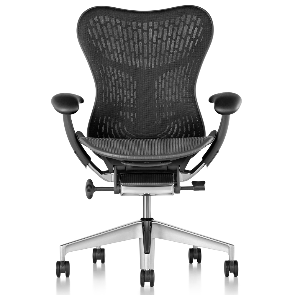 Sedie per l'ufficio Herman Miller linea Mirra 2