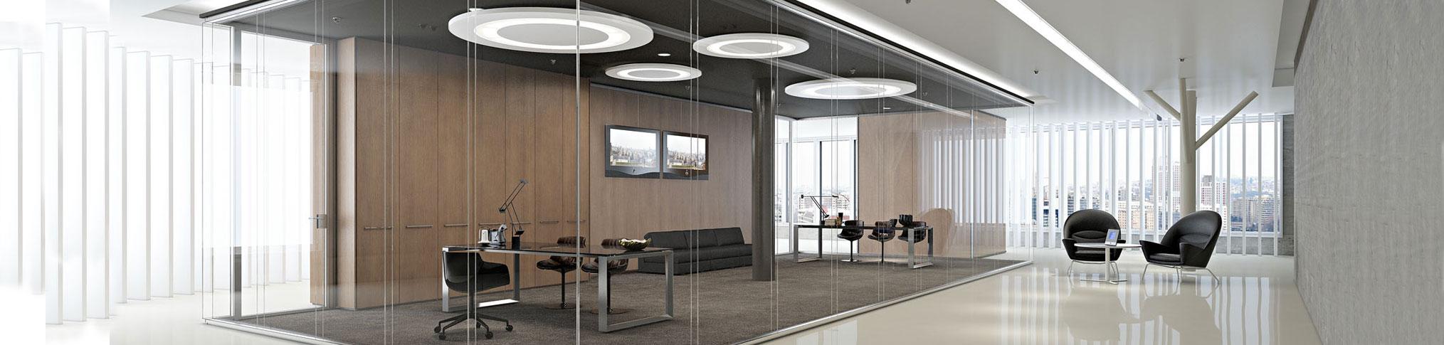 Pareti divisorie in vetro per l 39 ufficio - Pareti divisorie ufficio economiche ...